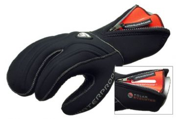 Waterproof - G1 7mm Three Finger Mitten / Dive Glove with Internal Seal